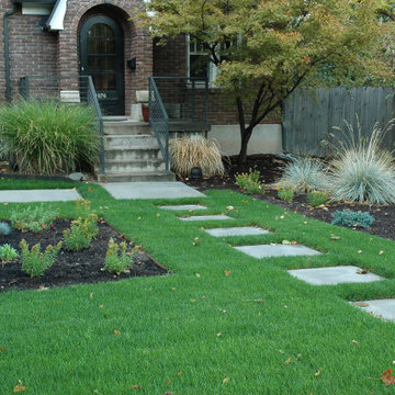 Contemporary Style Sugar House Modern Water Wise Front Yard