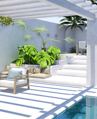 Contemporary Garden by My Paradissi