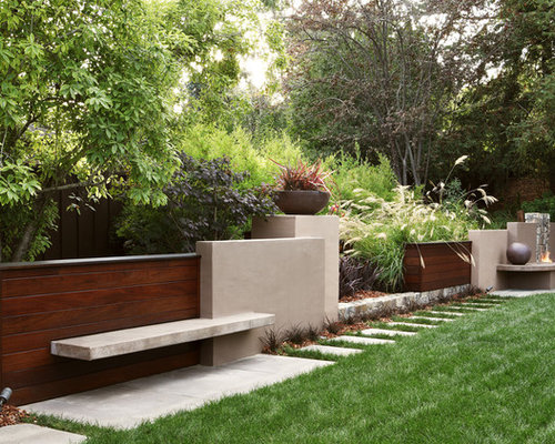 Garden Stucco Wall Houzz