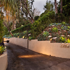 Mediterranean Landscape by Gregory Davis & Associates