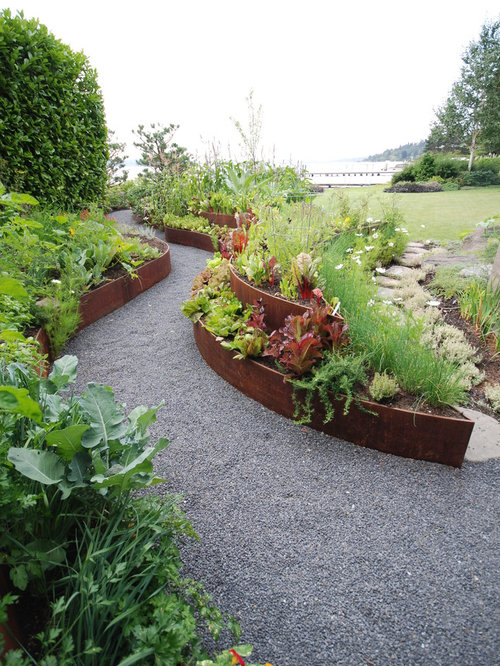 Metal Raised Beds Houzz