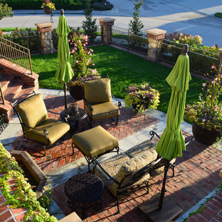 Photo of a mediterranean landscaping in Omaha.