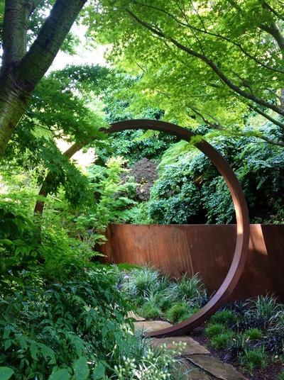 Современный Сад by Greenworks Design