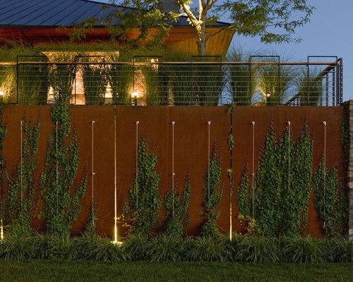 Flush Solar Wall Lights : Compound Wall Home Design Ideas, Pictures, Remodel and Decor