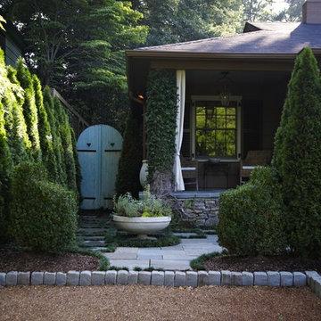 Cottage driveway