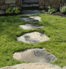 traditional landscape by Timothy Lee landscape design
