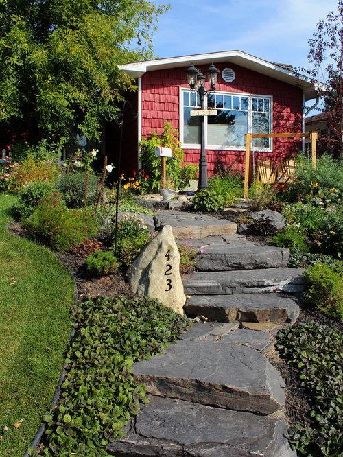 Houzz calgary landscape design ideas remodel pictures for Landscape design calgary