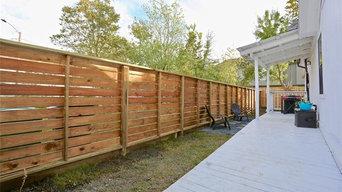 Cottage Wood Fence - Horizontal