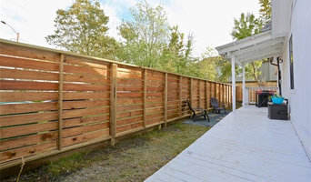 Cottage Wood Fence - Horizontal