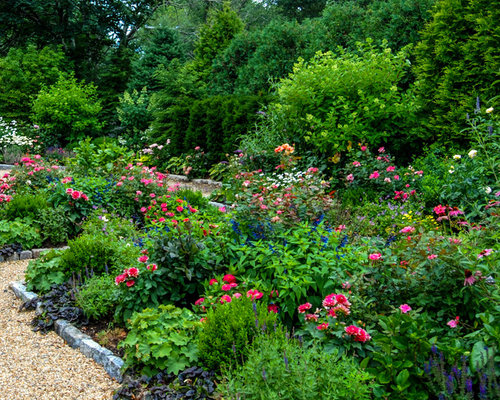 Perennial bed home design ideas, pictures, remodel and decor