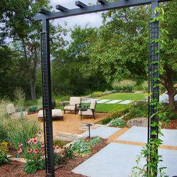 Oklahoma city contemporary landscape design ideas for Landscape design okc