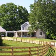 Traditional Landscape by Burke Coffey Architecture Design Inc.