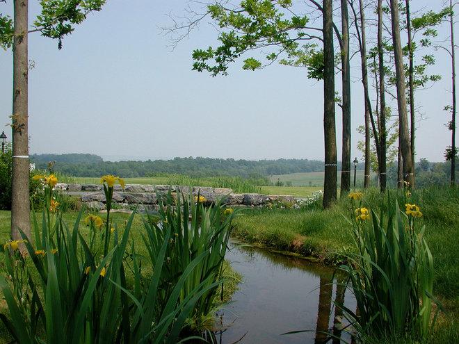 Farmhouse Landscape by A J Miller Landscape Architecture PLLC
