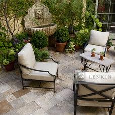 Traditional Landscape by Lenkin Design Inc: Landscape and Garden Design