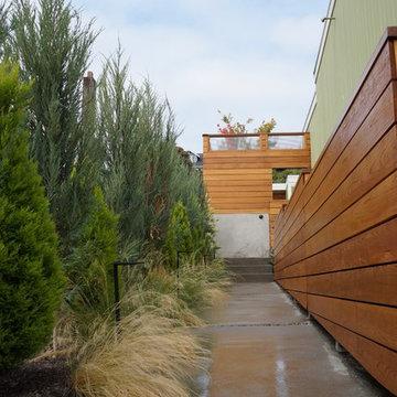 Courtyard with Sauna