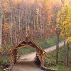 Traditional Landscape by Yurko Design & Architecture