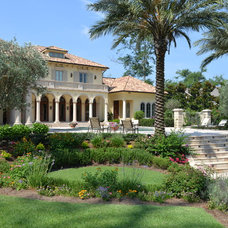 Mediterranean Landscape by Daly-Sublette Landscape Architects