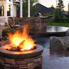 Contemporary Landscape by Copper Creek Landscaping