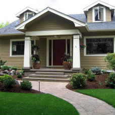 Craftsman Landscape by Harmony Design Northwest