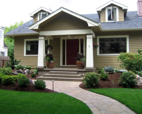 Low Maintenance Front Yard Landscaping Simple Curb Appeal