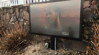 Cranston, RI- Outdoor television