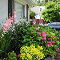 Traditional Landscape by Gardens by Rebecca