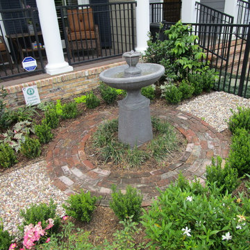 Creating a Courtyard with Southern Charm