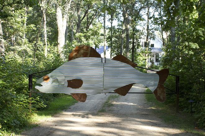 Eclectic Landscape by Michelle Fries, BeDe Design, LLC
