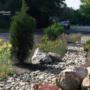 Photo of a contemporary landscaping in Providence.