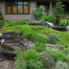 Contemporary Landscape by Aura Landscapers Ltd