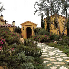 Mediterranean Landscape by David Pedersen, Inc.