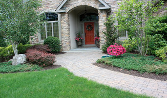 curb appeal paver walkway and entrance