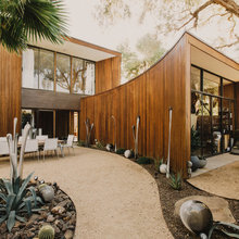 Houzz Tour: Redwood Misfit Gets a Midcentury Makeover