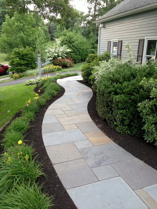 Bluestone Walkway Home Design Ideas Pictures Remodel And