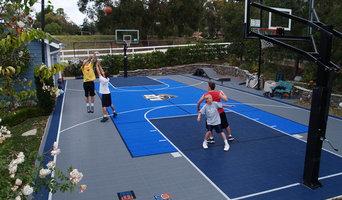 Custom Backyard Multi-Sport Court and Accessories