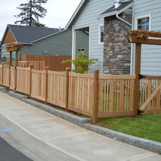 Craftsman Landscape by Pioneer Fence, Deck & Patio Covers