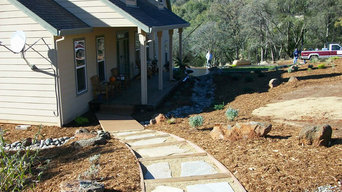 Custom Concrete Walkways, Patios, Driveways, and Stairs