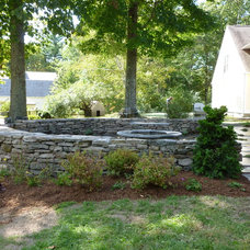 Traditional Landscape by Terrain Planning & Design LLC