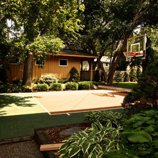 Contemporary Landscape by Home Restoration Services, Inc.