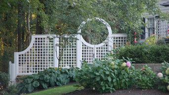 Custom Garden Gate and Fence