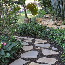 Tropical Landscape by Albanese Builders