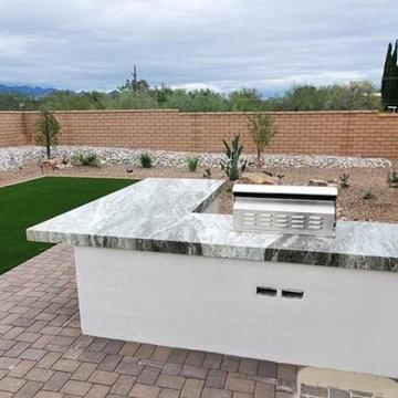 Custom Outdoor Kitchen Designs