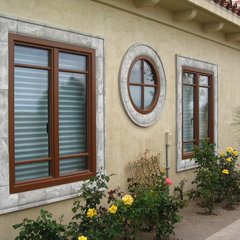 mediterranean exterior by Gaulhofer Windows