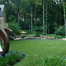 Contemporary Landscape by Plusen Landscape Architects