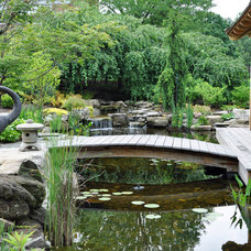 Asian Landscape by McHale Landscape Design, Inc.