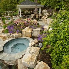 Traditional Landscape by Fine Decks Inc