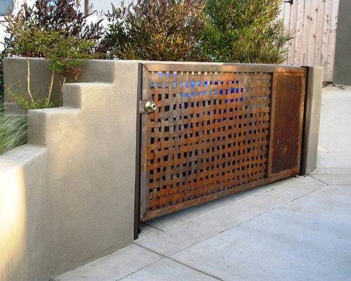 Garbage Can Enclosure Ideas Pictures Remodel And Decor