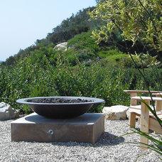 Mediterranean Landscape by debora carl landscape design