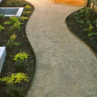 Design ideas for a contemporary landscaping in Portland.
