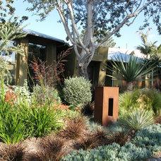 Contemporary Landscape by Farrell Design Assoc Inc,